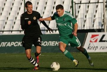 Славия - Лудогорец 0:0