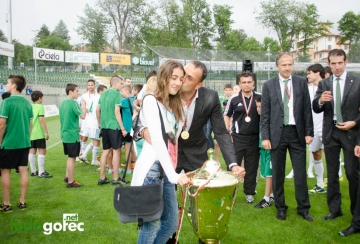 Треньорът на Лудогорец - Ивайло Петев