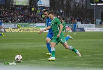 Нулево реми между Лудогорец и Левски в първата среща от 1/2 финала за Купата на България (СНИМКИ и ВИДЕО)
