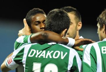 Лудогорец победи Локо Москва с 2:1