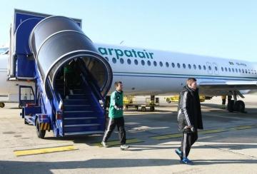 Лудогорец вече е в Загреб
