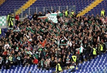 Лудогорец благодари на феновете за подкрепата в Рим