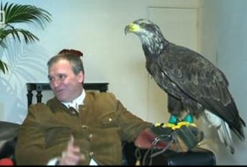 Полетът на орела за мача на Лудогорец с Валенсия