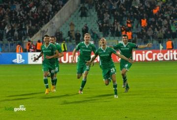 Първият български отбор с победа в групите на Шампионска Лига е Лудогорец (СНИМКИ и ВИДЕО)