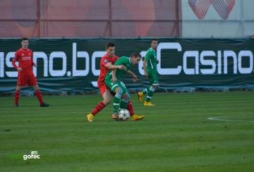 СНИМКИ: Лудогорец U19 с пета поредна загуба в Младежката Шампионска Лига