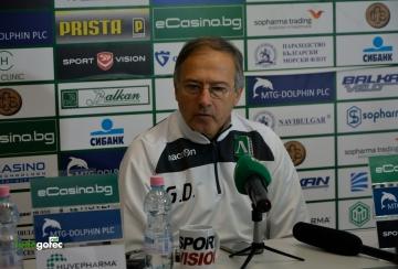 Георги Дерменджиев: Имаме респект към Славия