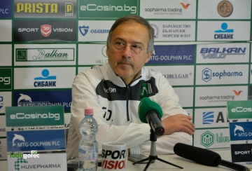 Георги Дерменджиев: Още не мислим за мача с Левски