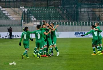 Лудогорец разгроми Литекс с 5:0 и продължава напред в турнира за Купата на България (СНИМКИ и ВИДЕО)