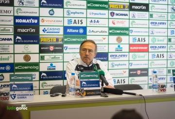 Дерменджиев: Винаги съм вярвал във футболистите си, те са най-добрите