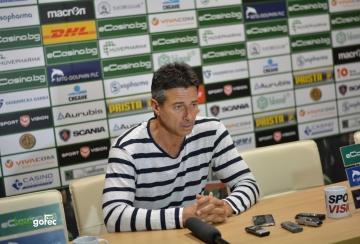 Старши треньорът на Лудогорец Едуард Ераносян подаде оставка