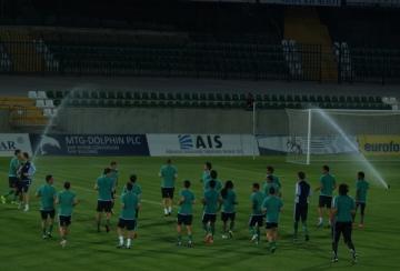 Лудогорец направи тренировка на Лудогорец Арена преди мача с Динамо Загреб (ВИДЕО)