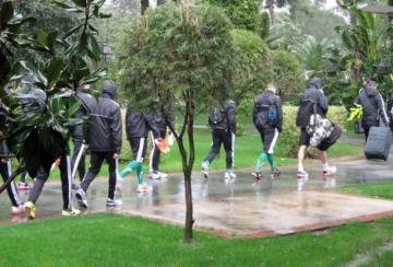 Буря и дъжд не спряха Лудогорец (СНИМКИ и ВИДЕО)