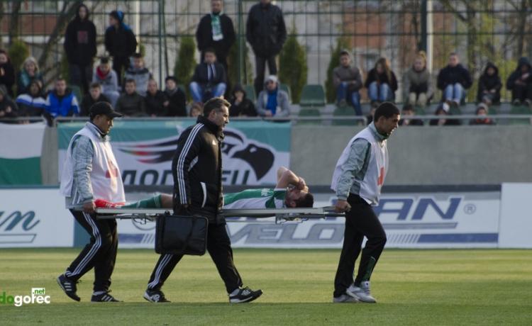 Христо Златински под въпрос за мача с Локо (Пд)
