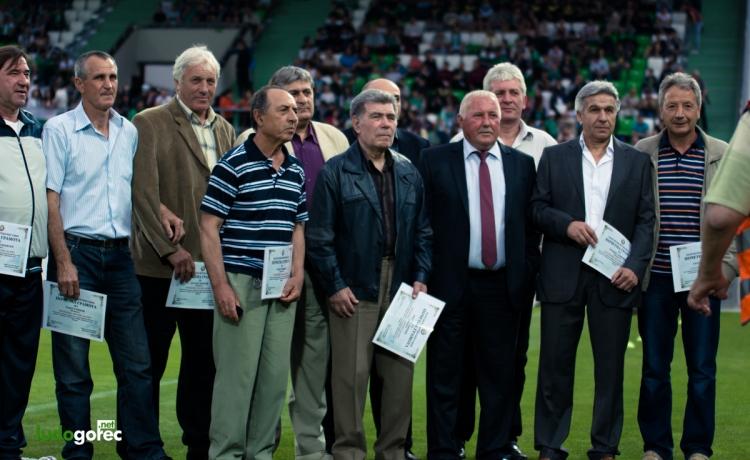 Ветераните на Лудогорец и Черно море играят мач по повод 70-годишния юбилей на шампиона