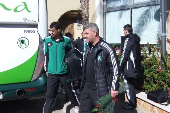 Лудогорец пристигна в Испания