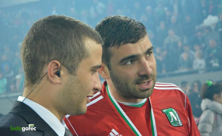 Владо Стоянов стана Футболист на футболистите