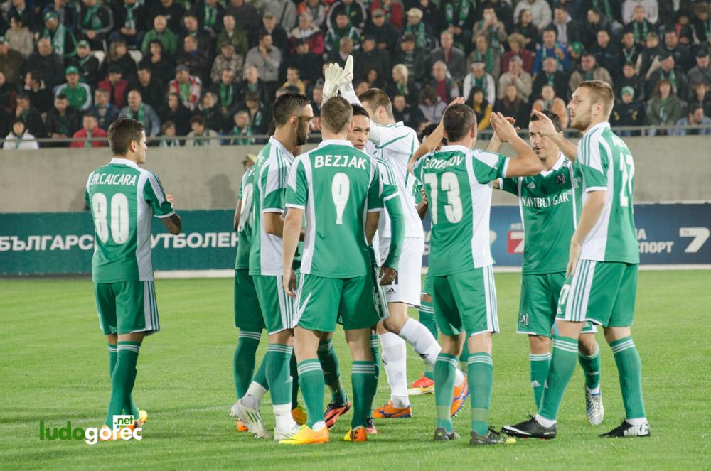 Лудогорец - Ботев 0:0