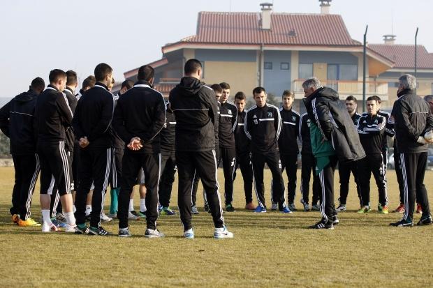 Първа тренировка за 2014 г.