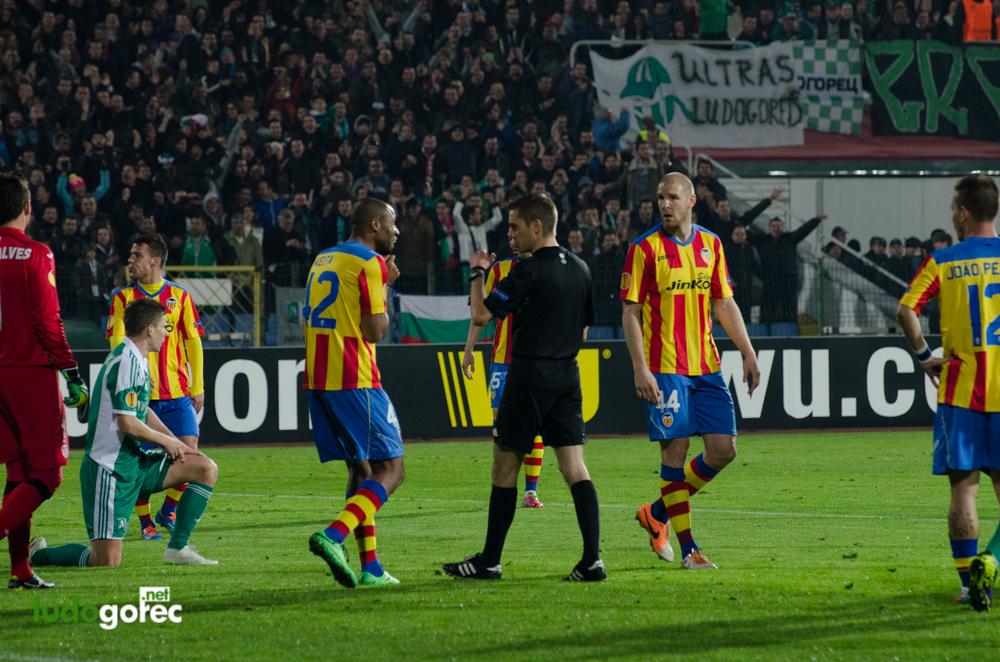 Лудогорец - Валенсия 0:3