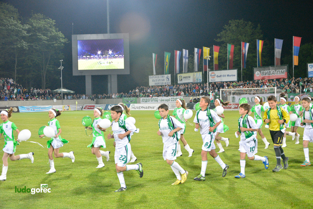 Награждаване на юношите за сезон 2013/14   ДЮШ