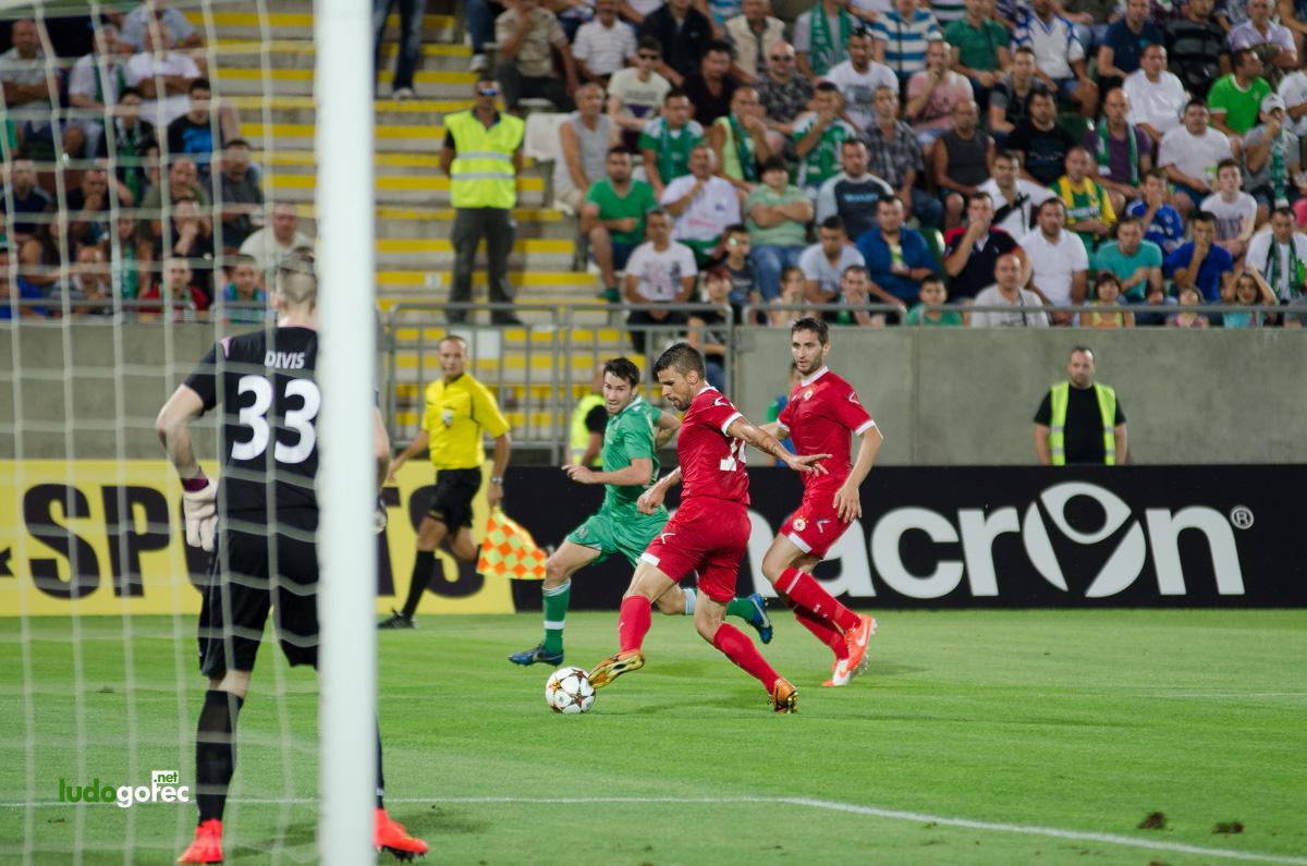 Лудогорец - ЦСКА 2:0