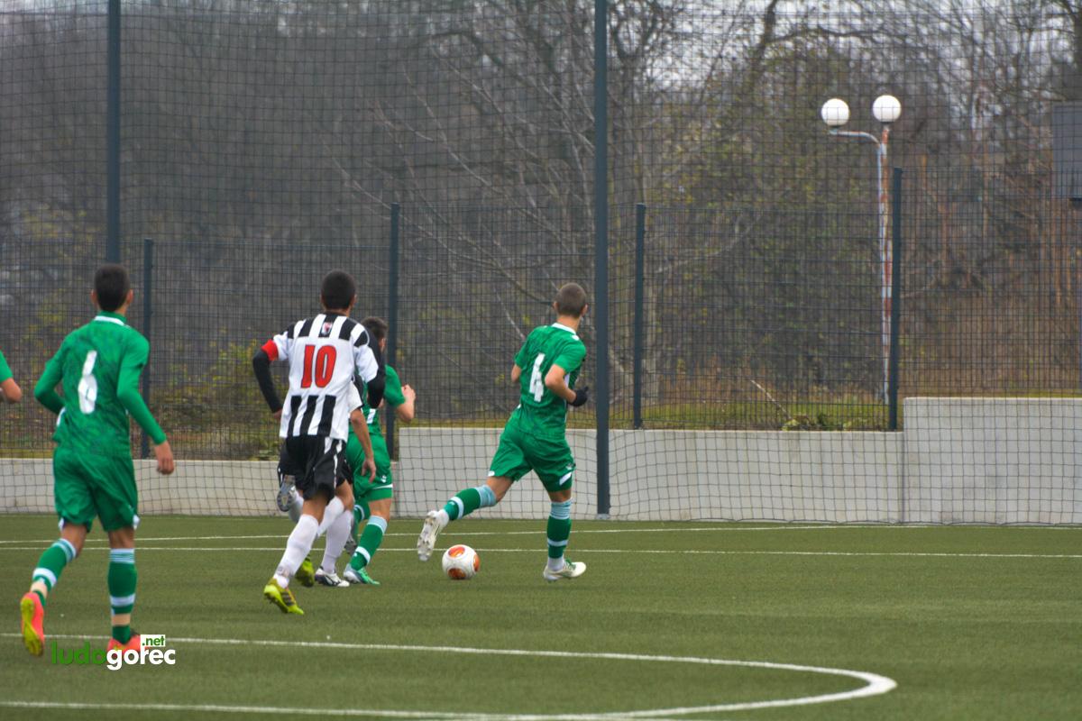 U17: Лудогорец - Векта (Пд) 9:0