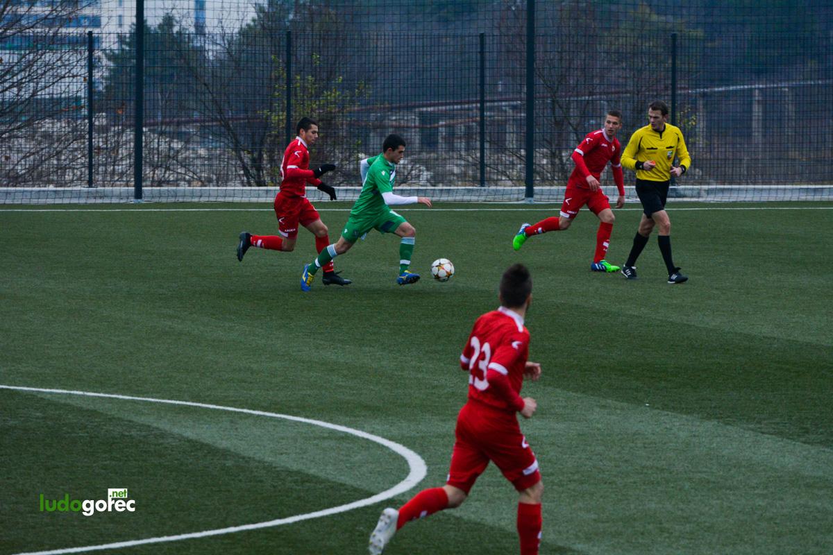 U21: Лудогорец - ЦСКА 1:0