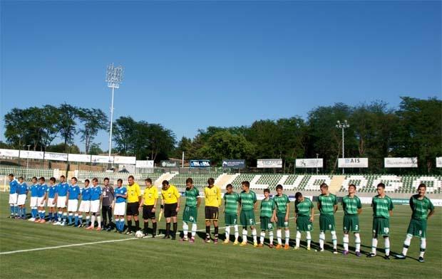 Разград напълни стадиона и за детски мач на Лудогорец   ДЮШ