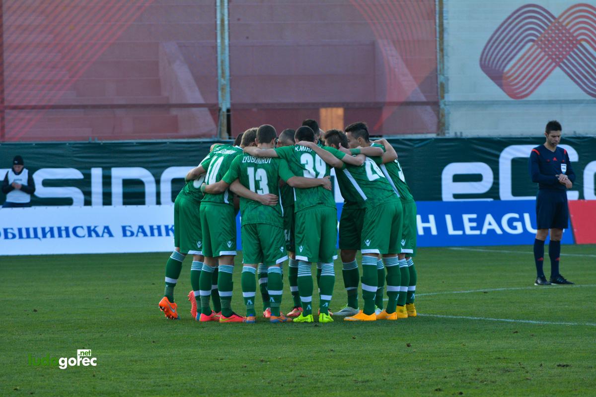 U19: Лудогорец - Ливърпул 0:3