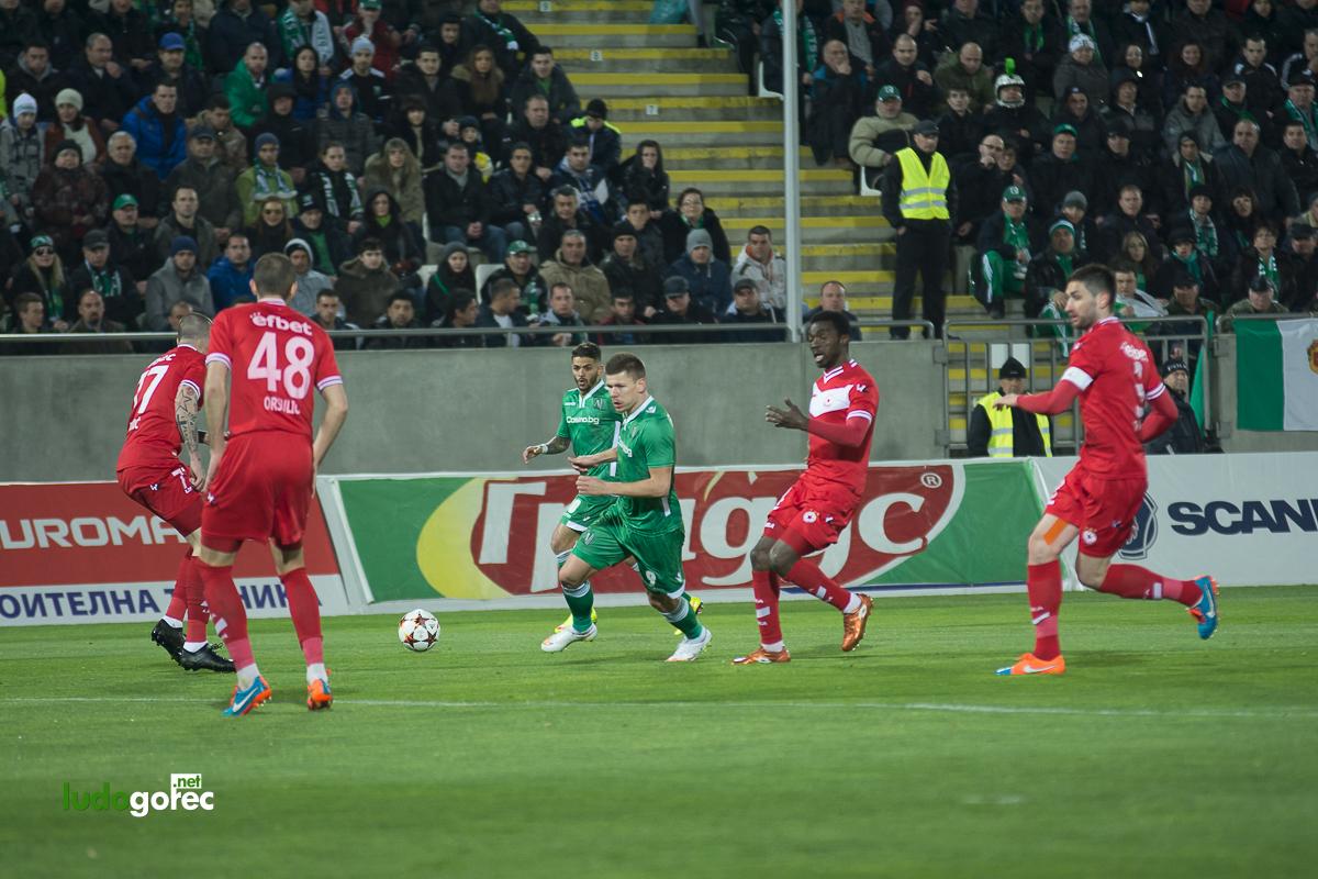 Лудогорец - ЦСКА 4:0