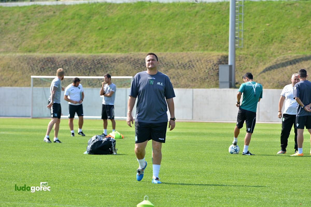 Лудогорец проведе официалната си тренировка преди мача с Милсами