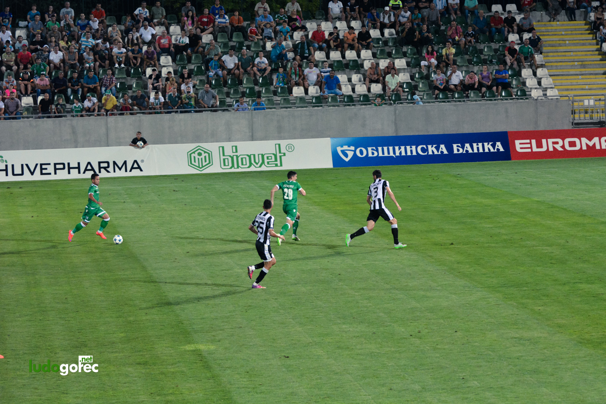 Лудогорец - Локо (Пд) 1:0