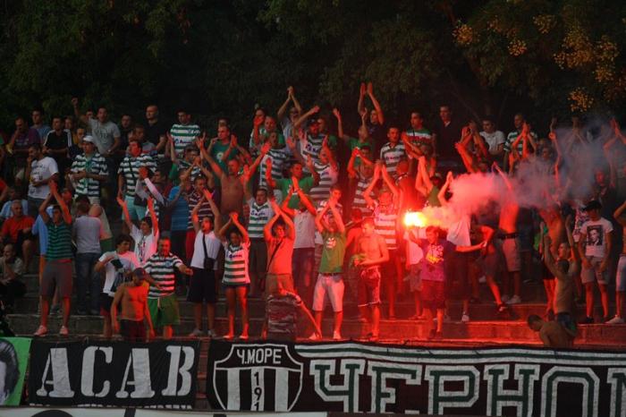 Черно море - Лудогорец 0:3