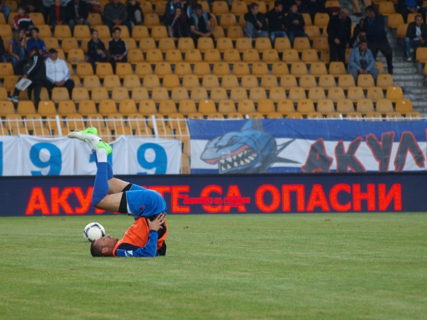 Черноморец - Лудогорец 1:0