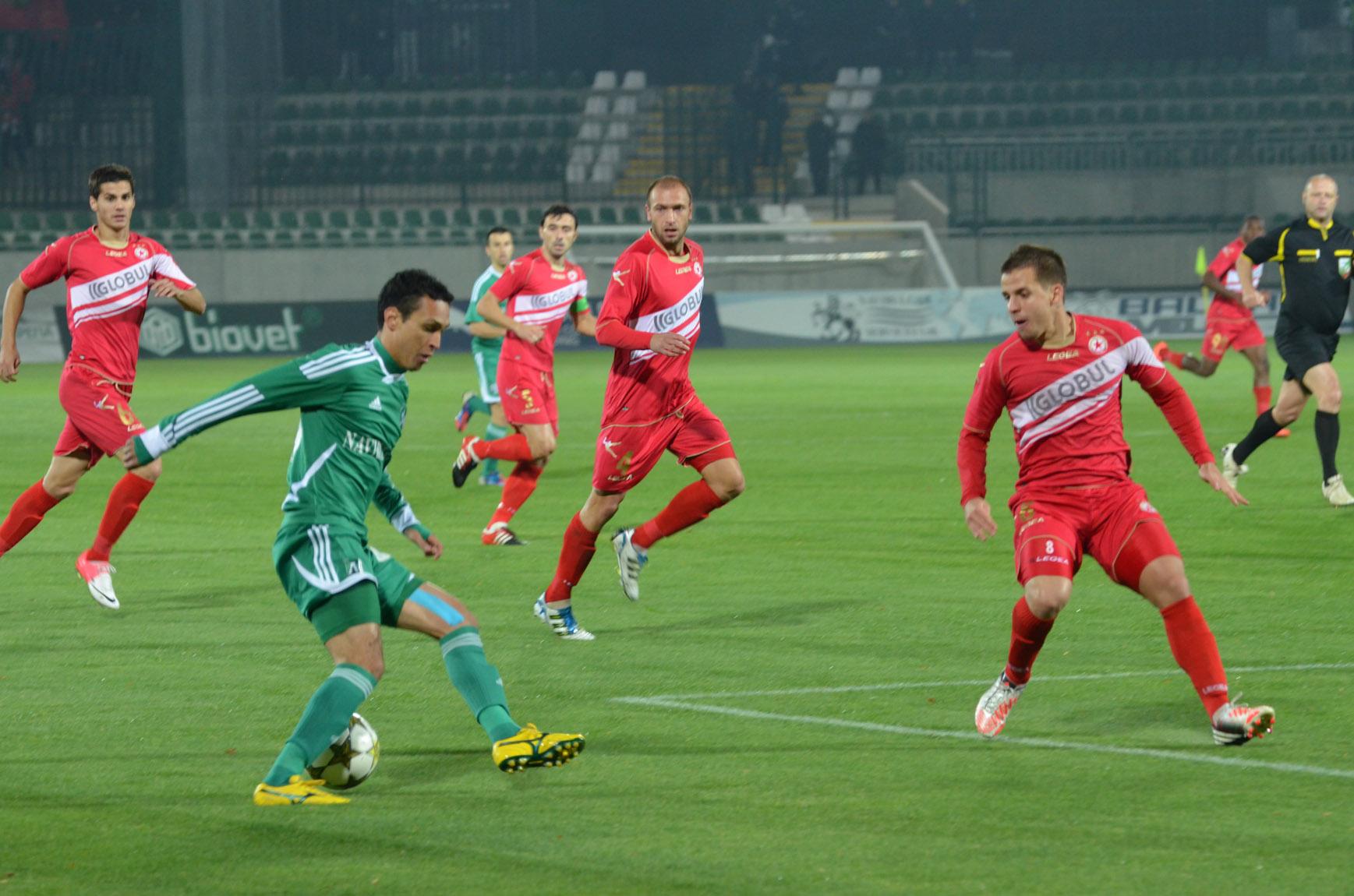 Лудогорец - ЦСКА 1:2