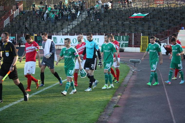 ЦСКА - Лудогорец 0:0