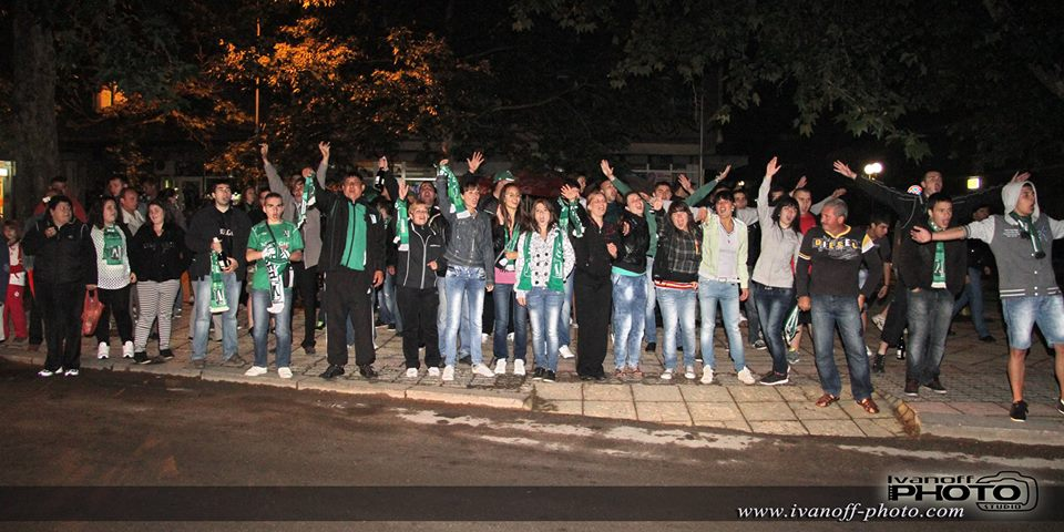 Феновете посрещнаха новия-стар шампион на България
