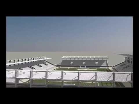 """Конструктивен проект на стадион """"Лудогорец Арена"""""""