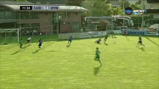 Лудогорец - Динамо (Москва) 1:1